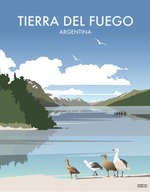 Tierra del Fuego Poster