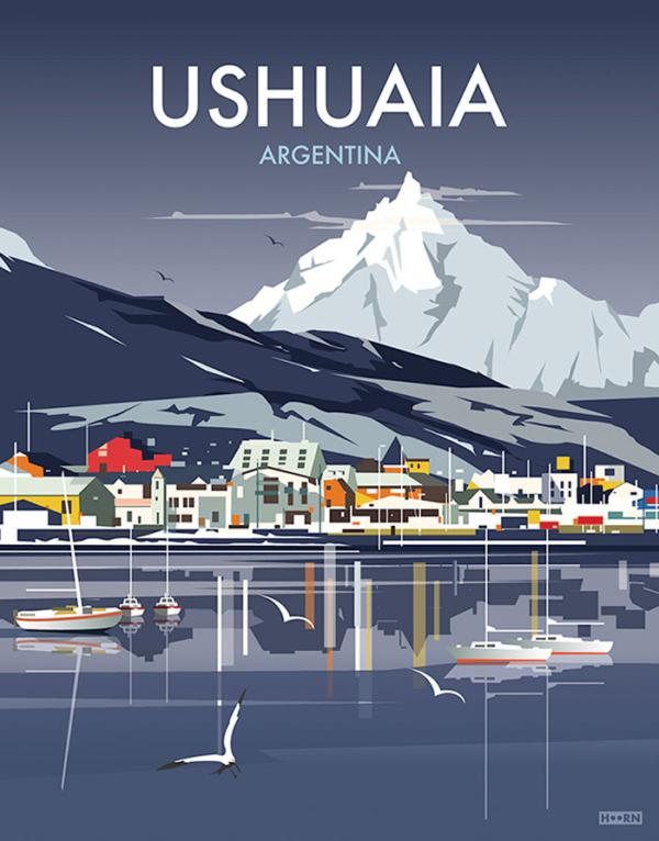 Ushuaia Poster
